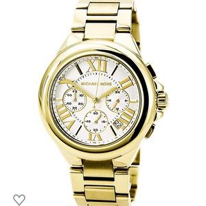Michael Kors Camille Gold Chronograph Watch